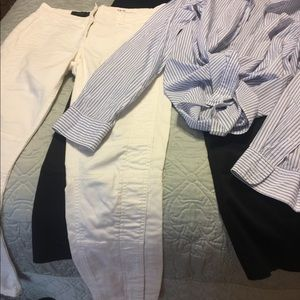 JCrew bundle 2 jeans 1 shirt
